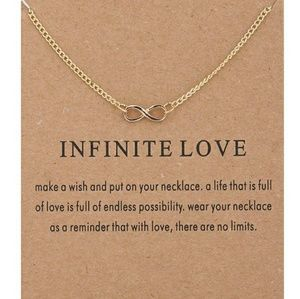 Jewelry - 5 for $25 Gold Color Infinity Pendant Neck…